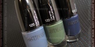 ArtDeco - Ceramic Nail Lacquer: 120, 123, 125