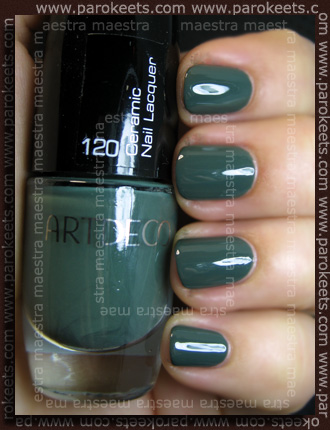 Swatch: ArtDeco - Ceramic Nail Lacquer: 120