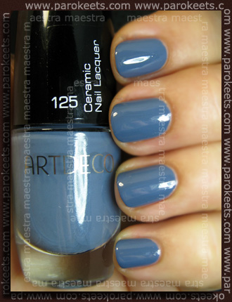 Swatch: ArtDeco - Ceramic Nail Lacquer: 125