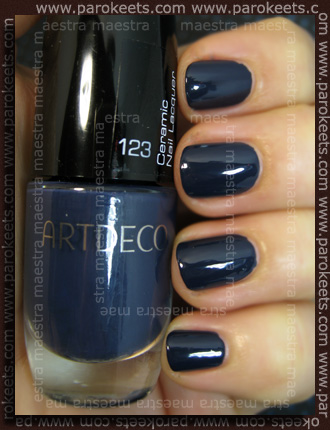 Swatch: ArtDeco - Ceramic Nail Lacquer: 123