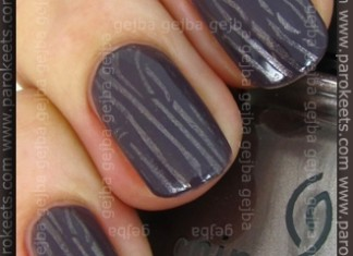 Konadicure: Artdeco 49 + China Glaze Cords + IP H23
