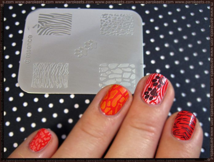 Manicure: Essence: New image plate