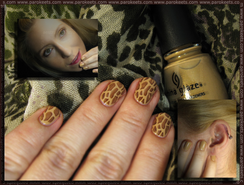 Giraffe Look by Maestra