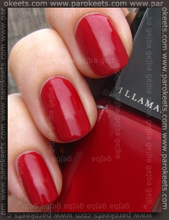 Illamasqua Throb collection: Throb (nail varnish) swatch