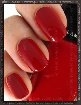 Illamasqua Throb collection: Throb (nail varnish) swatch