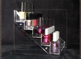 Magnetic: nail polish display (side)