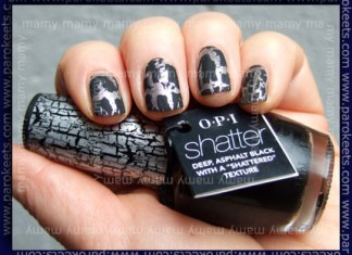 Opi_Not_Like_The_Movies_Black_Shatter_Swatch