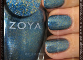 Swatch: Zoya - Crystal (Winter 2010 Flame collection)