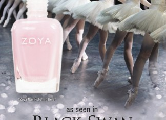 Zoya Bela in Black Swan on parokeets blog