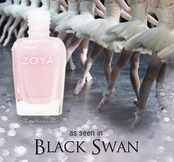 Zoya Bela in Black Swan on parokeets blog