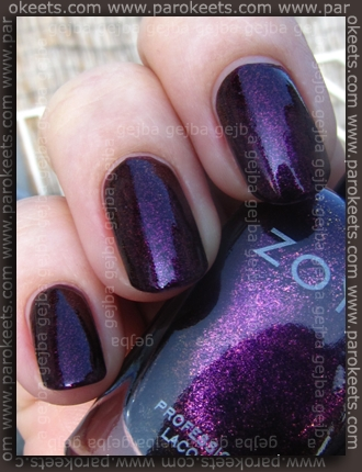 Zoya Valerie (Flame collection) swatch