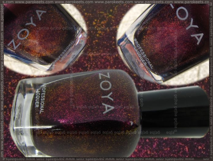 Zoya Valerie (Flame collection) parokeets