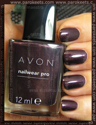 Swatch: Avon - Nailwear Pro: Night Violet