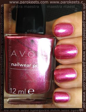 Swatch: Avon - Nailwear Pro: Pink Radiance