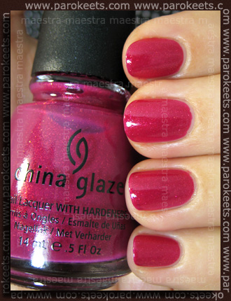 China Glaze Anchors Away: Ahoy! swatch