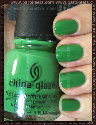 China Glaze Anchors Away: Starboard swatch