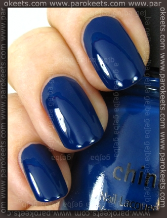 China Glaze Anchors Away: First Mate swatch