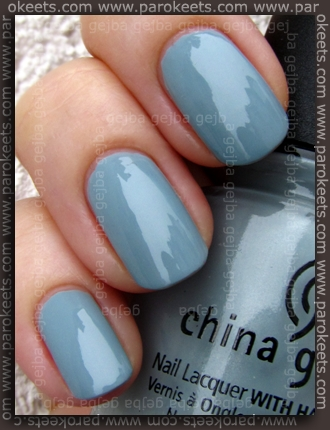 China Glaze Anchors Away: Sea Spray swatch by parokeets