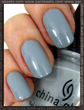 China Glaze Anchors Away: Sea Spray swatch