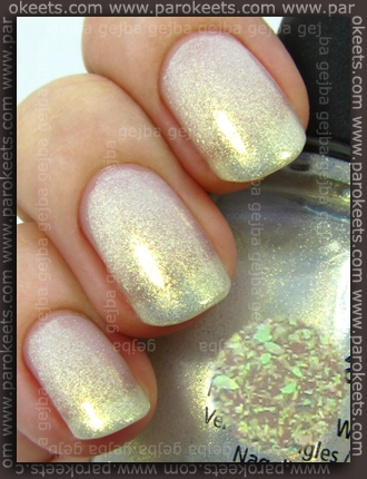 China Glaze Anchors Away: White Cap swatch