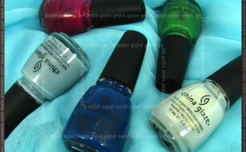 China Glaze Anchors Away collection