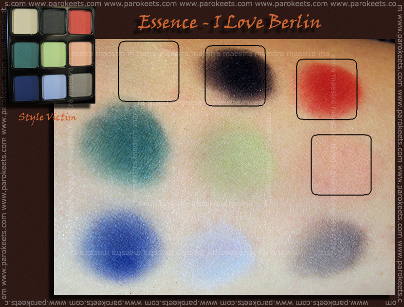 Essence - I Love Berlin: Style Victim palette