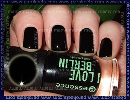 Essence: I Love Berlin - Berlin Story nail polish swatch by Parokeets