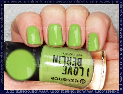 Essence: I Love Berlin - I'm A Berliner nail polish swatch by Parokeets