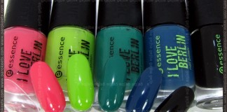 Essence: I Love Berlin - nail polishes by Parokeets