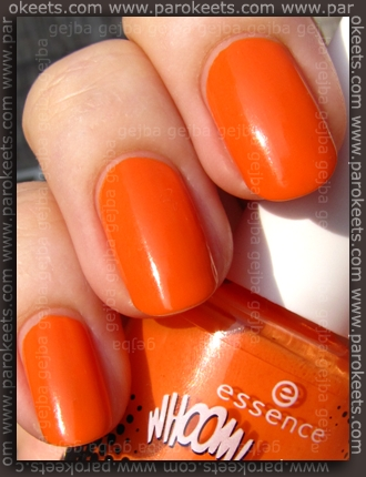 Essence: Whoom Boooom - Andy, You're A Star polish swatch by Parokeets