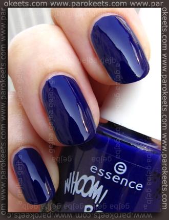 Essence: Whoom Boooom - Chacalaca polish swatch by Parokeets