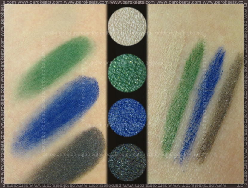 Essence: Whoom Boooom - Kawoom cream eyeliner palette swatch