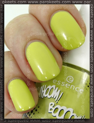 Essence: Whoom Boooom - You've Got The Art polish swatch by Parokeets