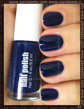 H&M - Spring Nails 2011: Blue