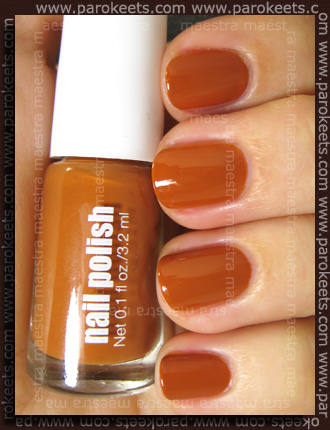 H&M - Spring Nails 2011: Brown