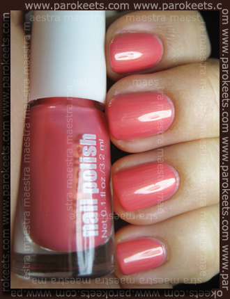 H&M - Spring Nails 2011: Coral