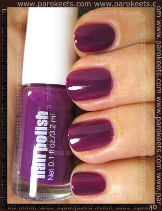 H&M - Spring Nails 2011: Dark Purple