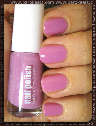 H&M - Spring Nails 2011: Light Purple