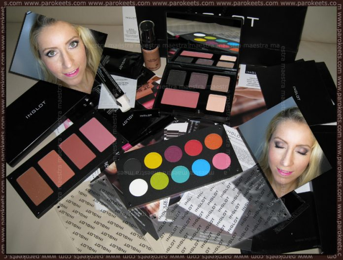 Inglot haul February 2011 by Maestra Parokeets