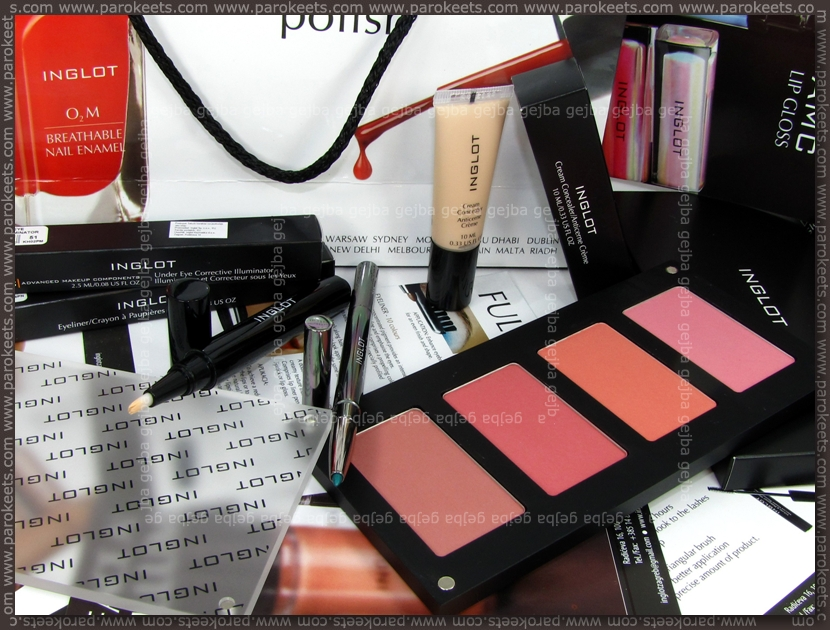 Inglot haul February 2011 by Gejba Parokeets