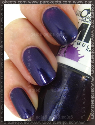 MNY nail polish no. 557 swatch by Parokeets