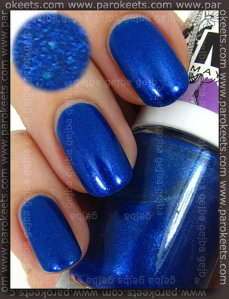 MNY nail polish no. 661 swatch by Parokeets