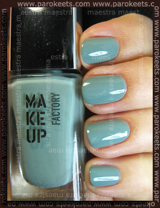 Swatch: Make Up Factory - Trend Colors: Nail Color - 530