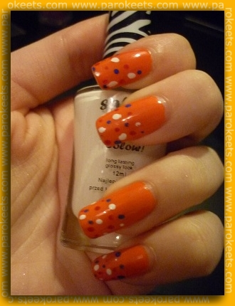Nailgloss for Parokeets challenge: Show Us Your Country