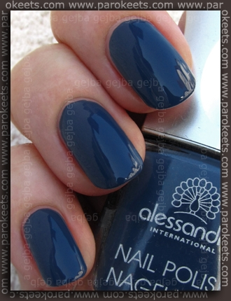 Alessandro: Denim Diva - Stone Washed swatch by Parokeets