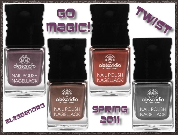 Alessandro Go Magic! Twist spring 2011 on Parokeets blog
