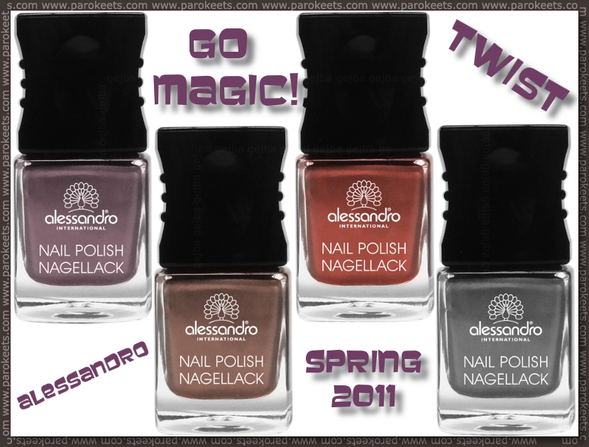 Alessandro Go Magic! Twist spring 2011 on Parokeets blog