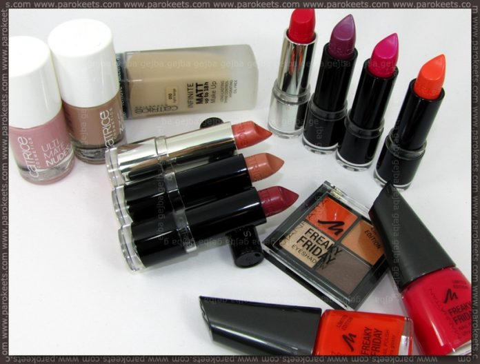 Austria haul march 2011: Catrice, Manhattan by Parokeets