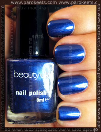 Swatch: Beauty UK: Midnight Minx blue