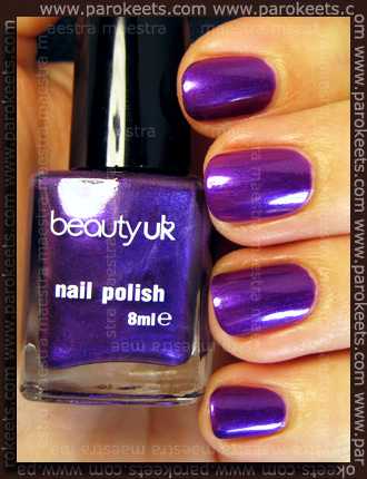 Swatch: Beauty UK: Midnight Minx purple